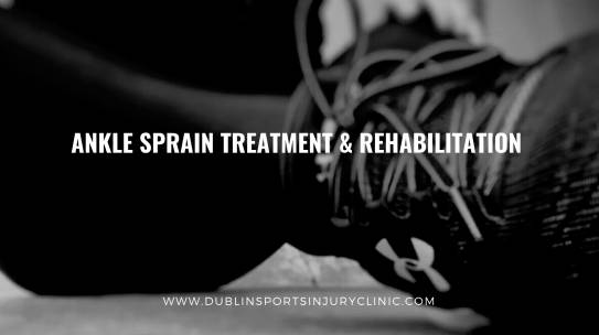Ankle Sprain Treatment – Rehabilitation (Phase 1)