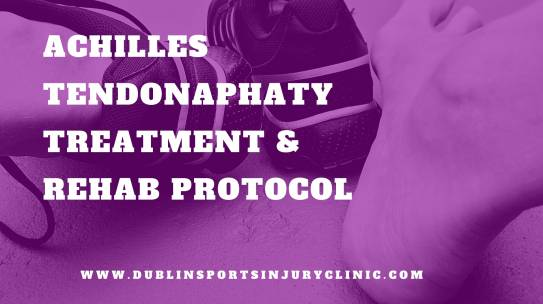 Achilles Tendinopathy? Treatment & Rehab Protocol