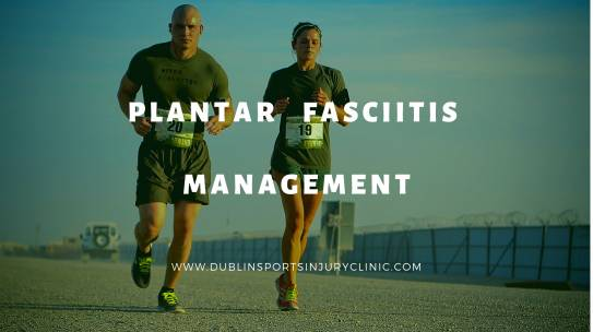 Plantar Fasciitis Managment