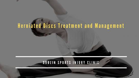 Herniated Discs Treatment and Management