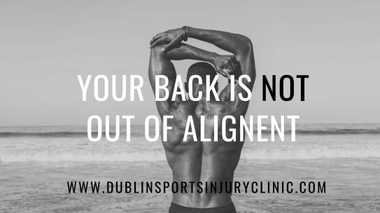 Your Back is Not Out of Alignment