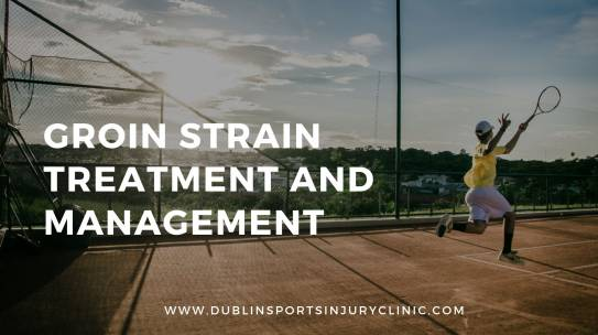 Groin Strain Treatment and Management
