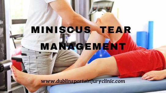 Meniscus Tear Management