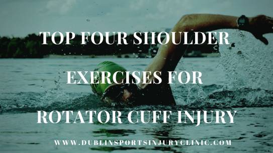 Top 4 Shoulder Exercises for Rotator Cuff Injury